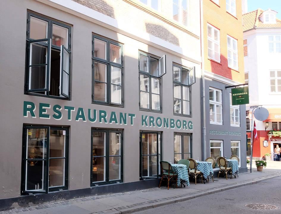 Restaurant Kronborg ligger i Brolæggerstræde 12.