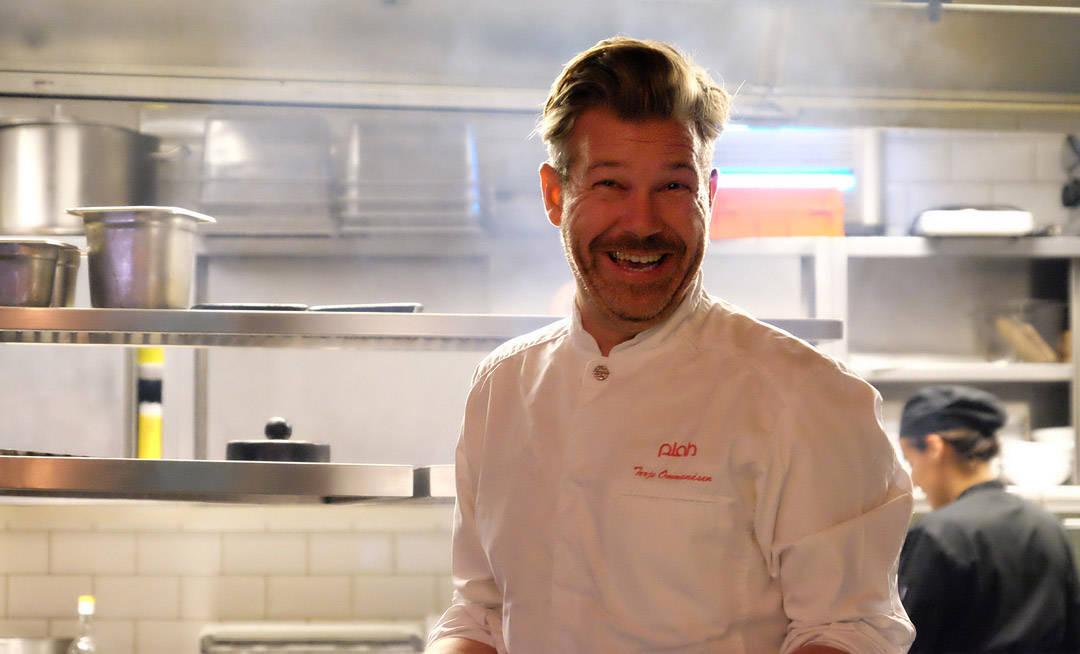 Terje Ommundsen fra Plah er gjestekokk hos Burger Bar.