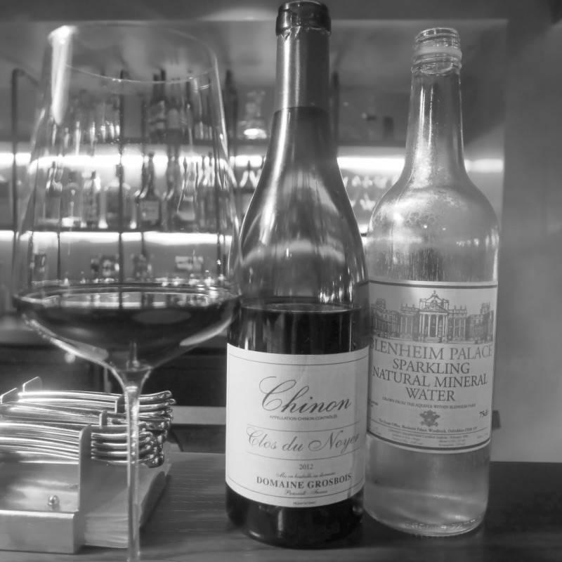 En meget god flaske vin.