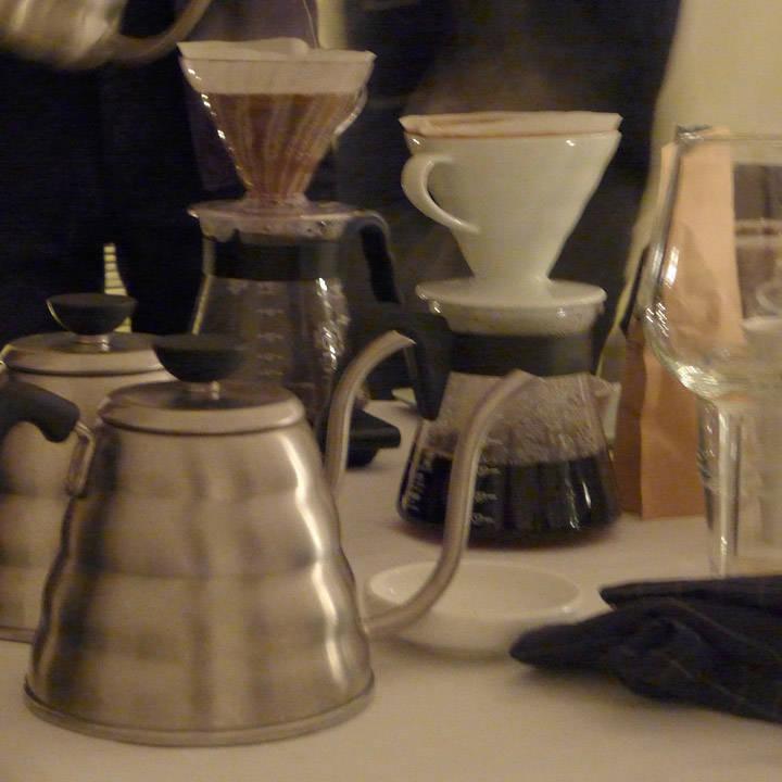 Hånddryppet V60-kaffe fra Etiophia.