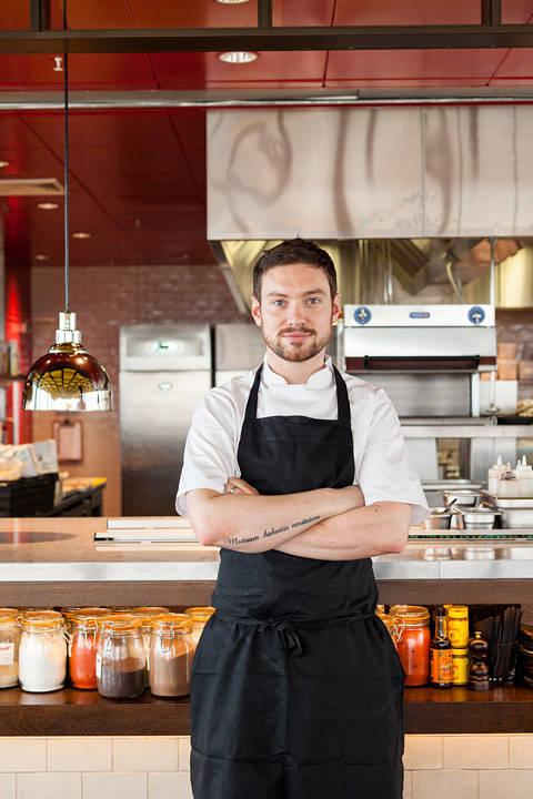 Kjøkkensjef Daniel Doherty (foto: Duck & Waffle)