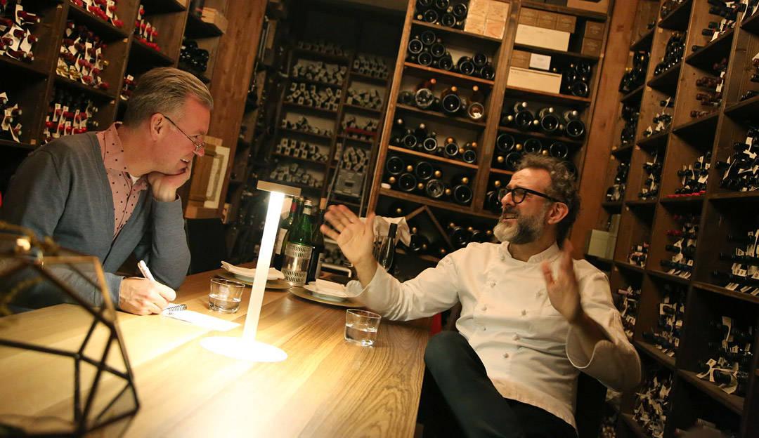 Klikk deg inn på erikvalebrokk.no for å lese intervjuet Erik gjorde med Massimo Bottura.