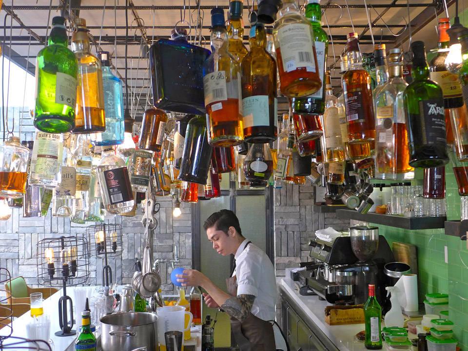 Tippling Club i Singapore.
