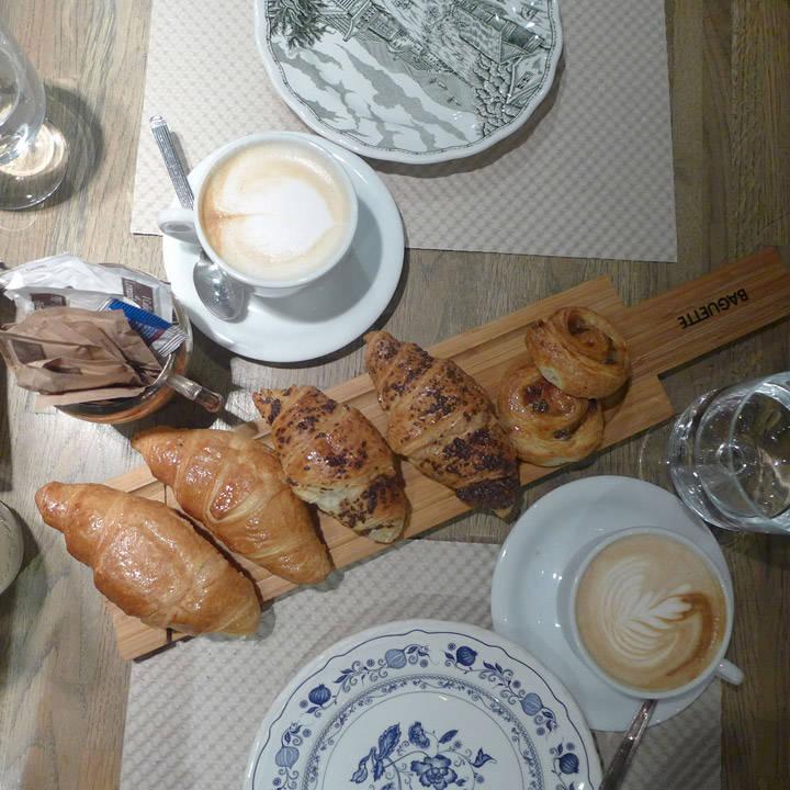 Frokosten på Mon café er lekker.