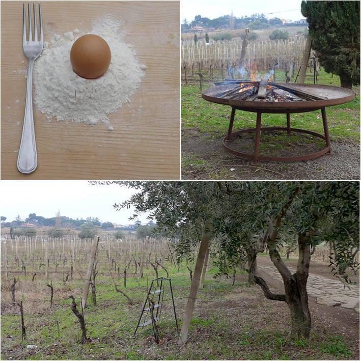 Vinranker, oliventrær og pastakurs. Min oppskrift på en perfekt lørdag.