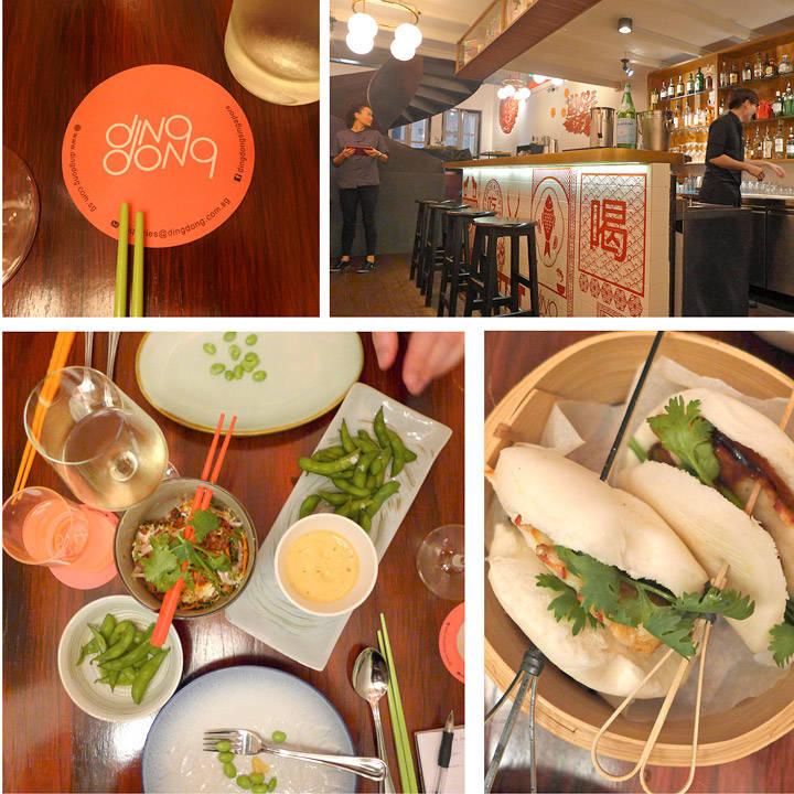 Ding Dong er en kul asiatisk restaurant der chef Ryan Cliff styrer. Han driver også Tippling Club (se lenger ned i saken) som er helt fantastisk. På Ding Dong spiste vi edamamebønner med curryskum.