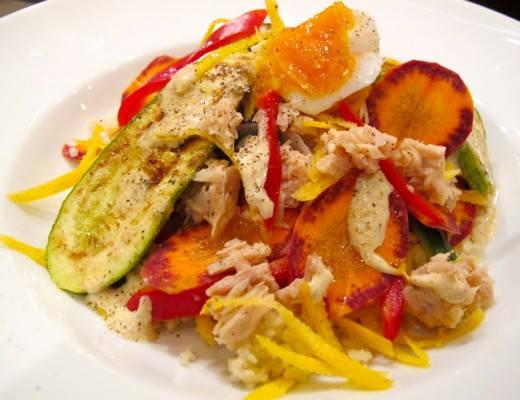 img 7171 520x400 - Tunfisksalat med couscous og spreke grønnsaker