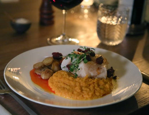 J49A5425 520x400 - Herlig torsk med gulrotpuré og chorizo-smør