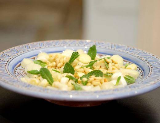 DSCF9639 520x400 - Hvit asparges-salat