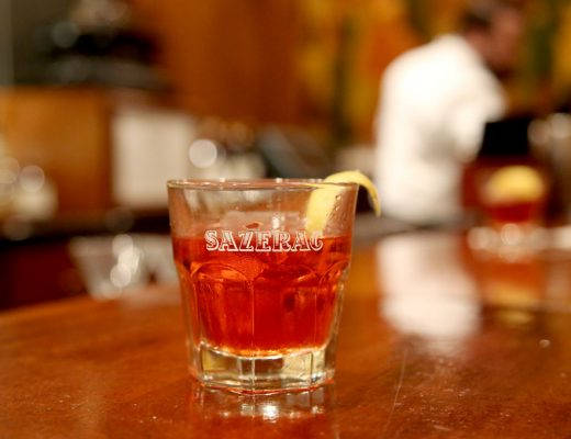 J49A2881 520x400 - Sazerac – verdens kanskje aller første cocktail