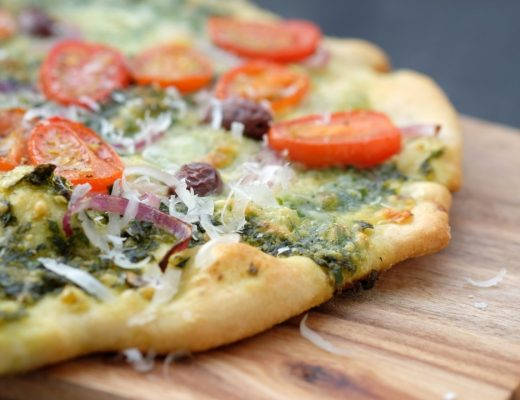 DSCF2872 520x400 - Ooh la la! Pizza med pistou