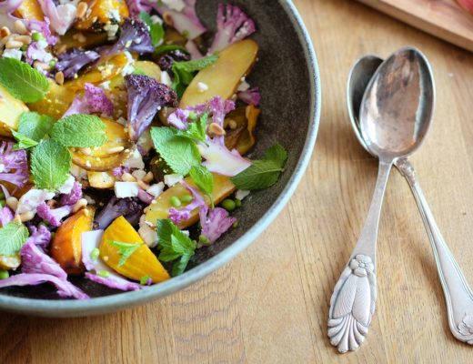 DSCF4149 520x400 - Sommerens vakreste salat?