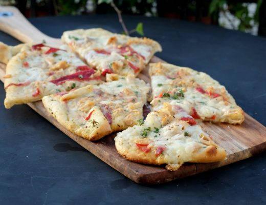 DSCF4475 520x400 - Pizzabrød med tunfisk og grillet paprika
