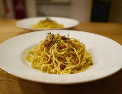 L1040111 520x400 - Pasta med ristede valnøtter