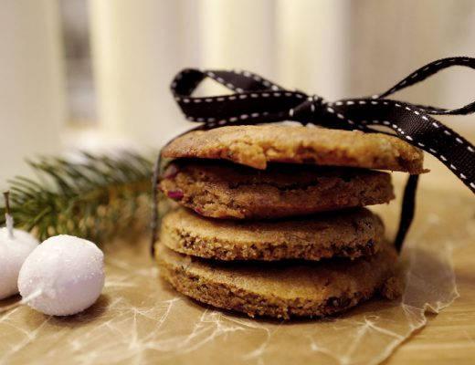 L1040323 520x400 - Cookies med lakris og tranebær