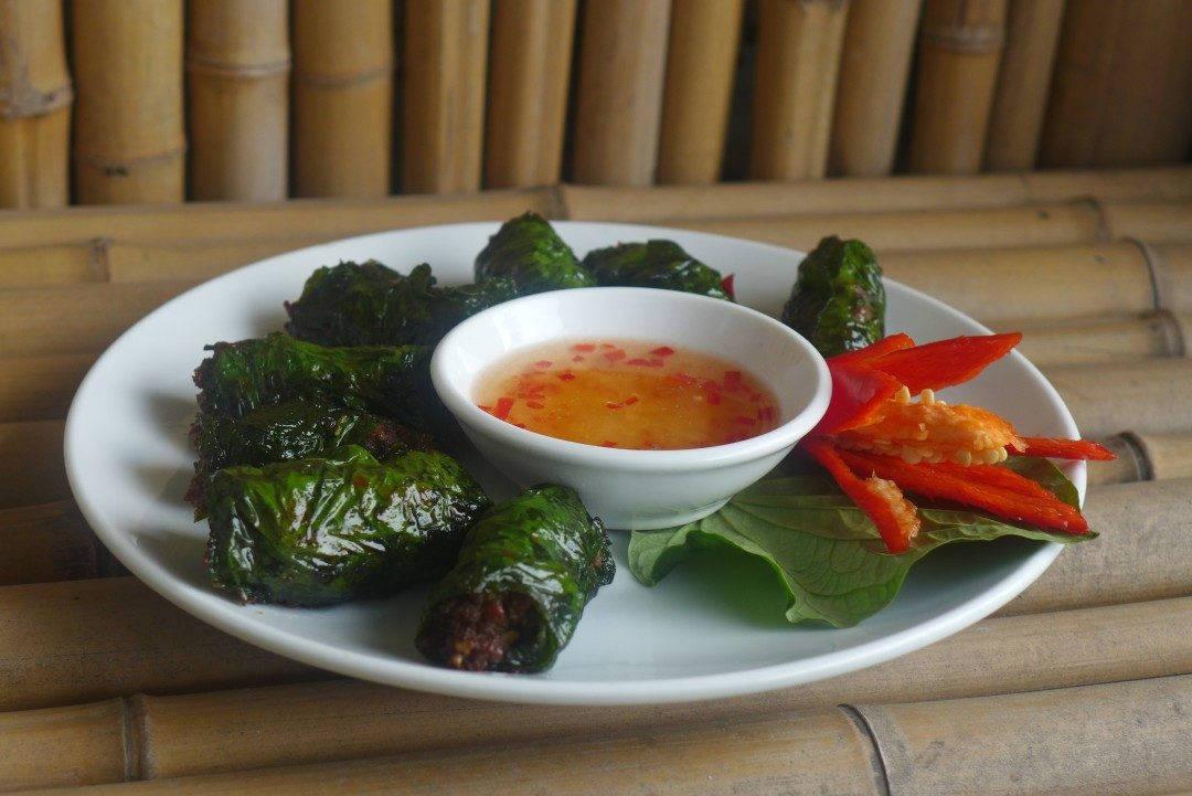 L1210023 1080x721 - Vietnamesiske kjøttruller (Chä bò lá lôt)