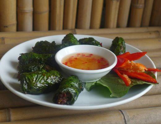 L1210023 520x400 - Vietnamesiske kjøttruller (Chä bò lá lôt)