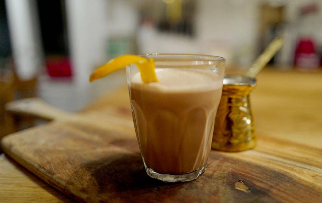 Kaffe med kakao og appelsin - Helleskitchen