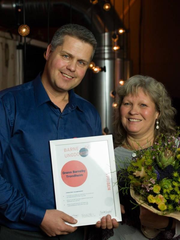 Barne og ungdomsprisen - Heidi Bjerkan fikk Matprisen 2017