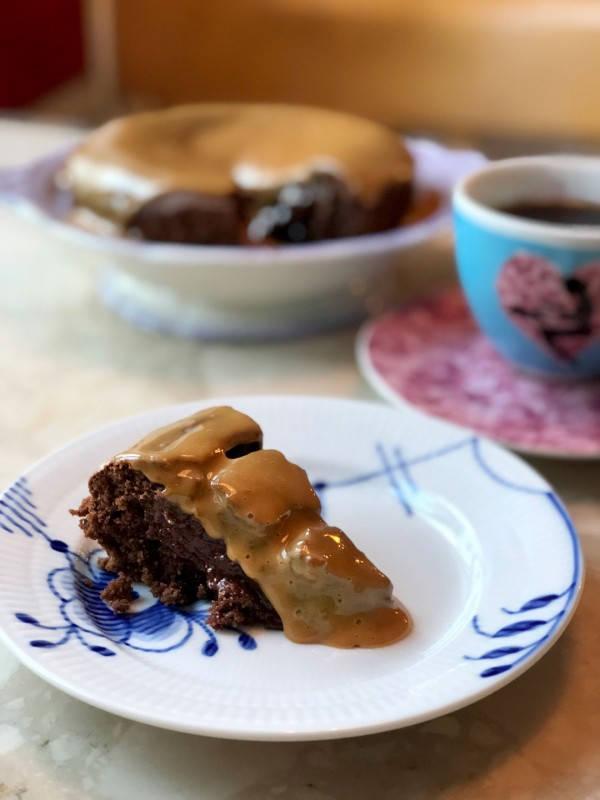 IMG 1706 - Saftig Mud Cake med kaffe og dulche de leche