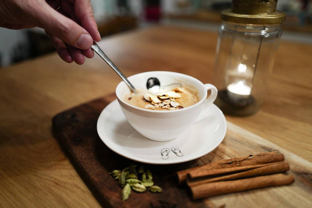 L1340972 - Liker du chai latte? Da er dette desserten for deg