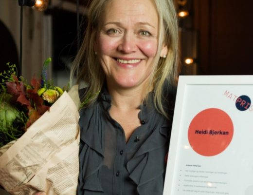 Matprisen 520x400 - Heidi Bjerkan fikk Matprisen 2017