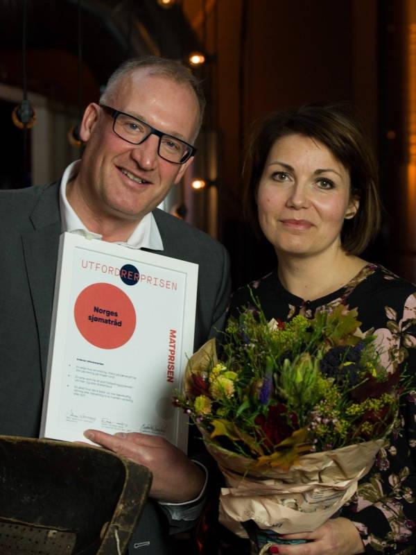 Utfordrerprisen - Heidi Bjerkan fikk Matprisen 2017