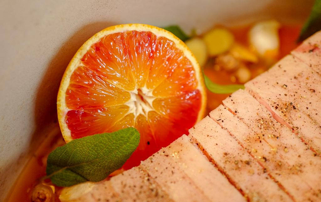 L1380072 - Langtidsstekt ribbe med blodappelsin og ingefær