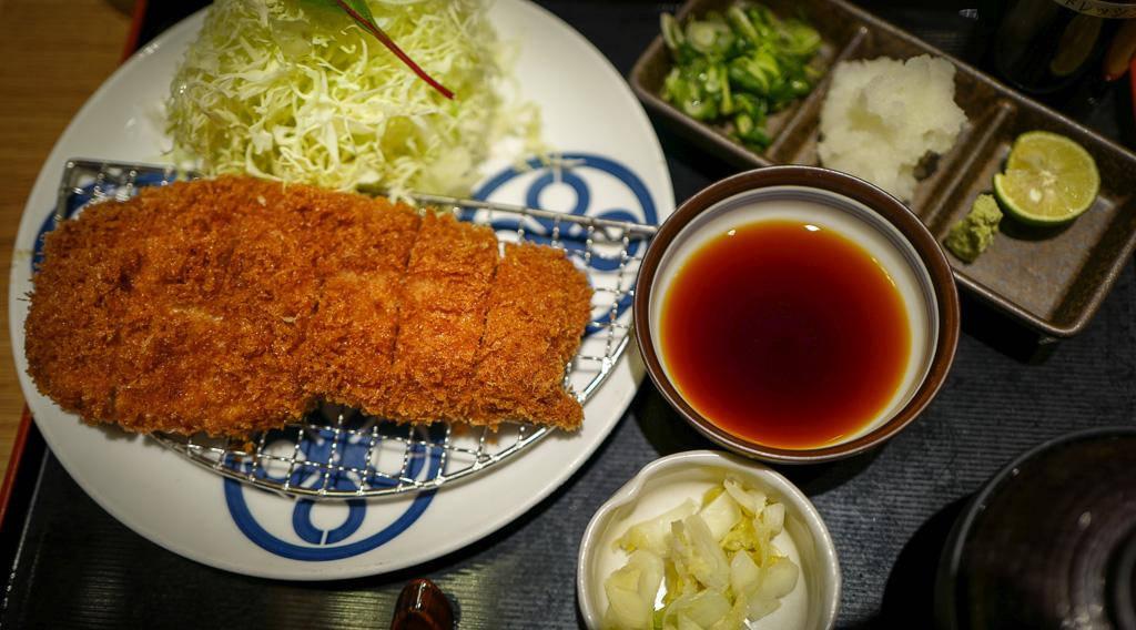 L1380871 - Tonkatsu – japansk wienerschnitzel