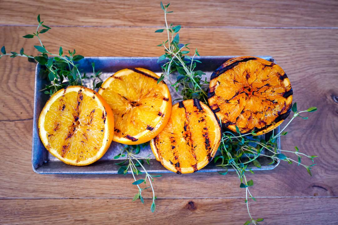 L1420730 - Spritz med grillet appelsin og timian