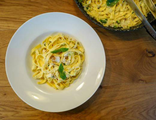 L1420950 520x400 - Pasta med røkt fisk