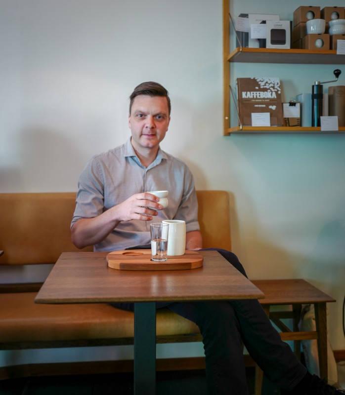 L1450611 - Slik brygger du perfekt kaffe ifølge baristaverdensmester Tim Wendelboe