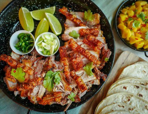 ribbe taco meksikansk fredagstaco mango helleskitchenL1440188 520x400 - Ribbe-taco