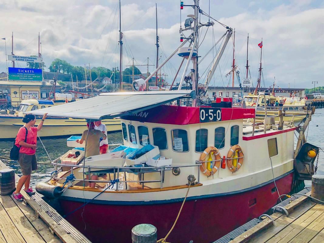 IMG 0697 2 - Carpaccio av råreker – rett fra fiskebåten