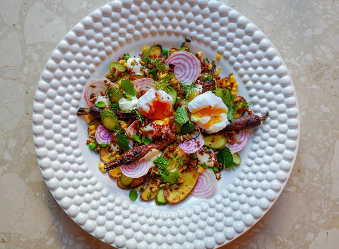 L1500100 - Egg- og bacon-salat